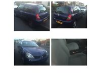 07 plate Renault Clio 3 door mot March 2017