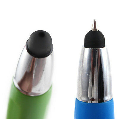 1pc 3-in-1 Capacitive Touch Screen Stylus + Ballpoint Pen + LED Flashlight iPad