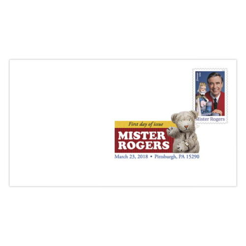 USPS New Mister Rogers Digital Color Postmark