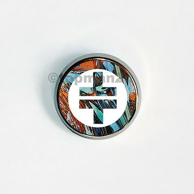 New, Quality Circular Metal Pin Badge - Take That - TOUR Logo, Lovely Souvenir