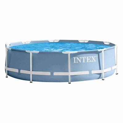 Intex 26700NP Prism Metal Frame Swimming Pool Round 3.05m 4485L Water Capacity
