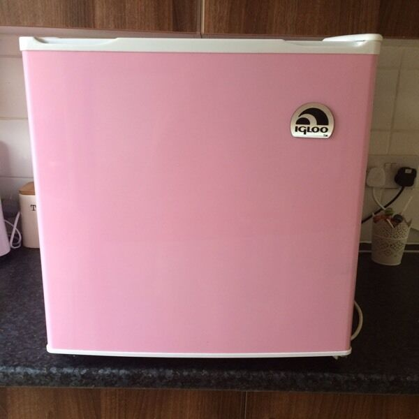 Igloo pink mini fridge | in Cambridge, Cambridgeshire