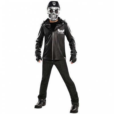 Children Bad To The Bone Skeleton - Age 8-10 Halloween Fancy Dress Outfit  - Angel Costume Age 10