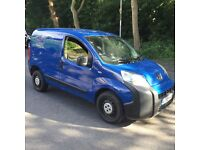 59-REG PEUGEOT BIPPER 1.4 HDI PANEL VAN STARTS FIRST TIME 2 NEW TYRES & DROP LINKS SUPERB ECONOMY.