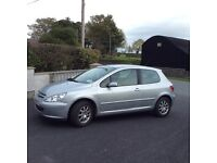 2005 Peugeot 307 X-Line *Full years MOT*