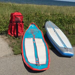 Inflatable paddleboards