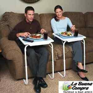 Table mate mesa auxiliar bandeja para cama sofa ordenador - Mesa auxiliar para sofa ...