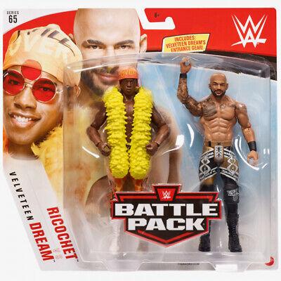 WWE Mattel Ricochet vs. Velveteen Dream Battle Packs 65 Basic Figures