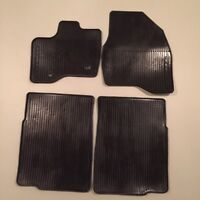 2011-2014 FORD EXPLORER  ALL-WEATHER RUBBER FLOOR MATS