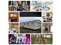 6/8 Berth Caravan for private hire in Skegness Lincolnshire