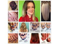 Becky Gray Hair And Nails