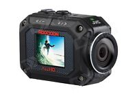 JVC Adixxion GC-XA2 Action Waterproof Camera (16MP, 5x Zoom, Full HD) 1.5 inch LCD Screen
