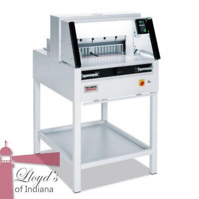 Mbm Triumph 5260 Programmable 20 38 Paper Cutter With Vrcut