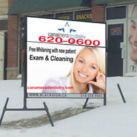 Mobile Signs by: BlackSign.ca