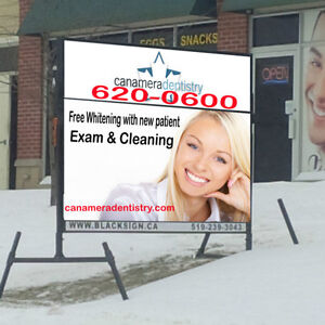 Mobile Signs by: BlackSign.ca Cambridge Kitchener Area image 1