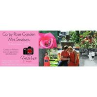Corby Rose Garden Mini Sessions 30 Mins $20