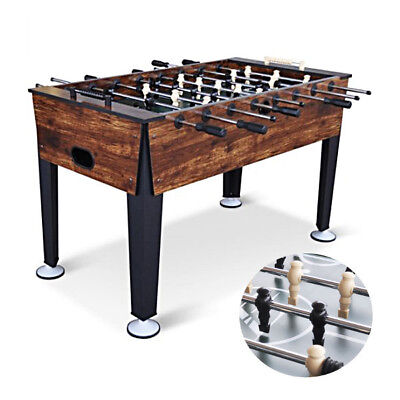 Competition Sized Foosball Table Soccer Game Room Arcade Hockey Air Foos Ball 54