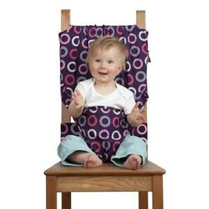 TotSeat (portable infant travel/safety chair) - like new - ($10)