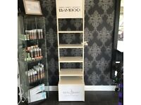 Alterna bamboo and Neal and wolf product stand