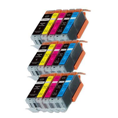 15 PK XL Ink Cartridges for Canon PGI-250XL CLI-251XL MG5520 MX922 MG5620 MG6620