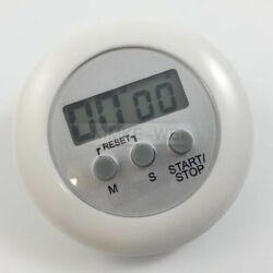 Digital Magnetic LCD Timer Racing Kitchen Home Countdown Alarm Clock Stop Watch