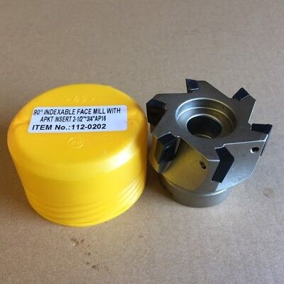 2-12 X 34 45 Indexable Face Mill Cutter 4fl With 4x Sekn Insert