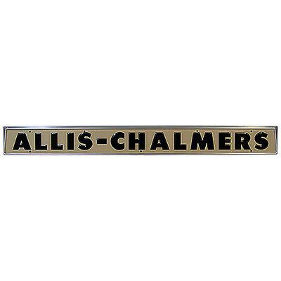 Hood Name Plate Emblem Allis Chalmers D10 D12 D14 D15 D17 Tractor 233854