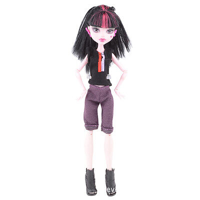 Doll accessories Doll Clothes dress Set For monster high school doll v16