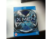 X-men quadrilogy blue ray