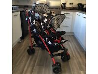 Cosatto double buggy stroller