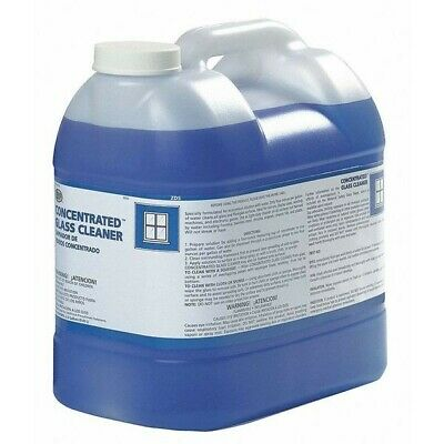 2.5 Gallons Zep Commercial Concentrated Glass Cleaner 10525 - Smells -