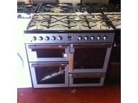 Brand New Range cooker 100cm Dual fuel 7 burner cooker-warranty included PRP £789