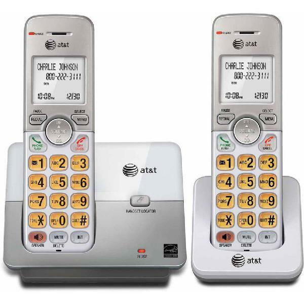 AtT El51203 Dect 6.0 Phone With Caller Id/Call Waiting, 2 Co