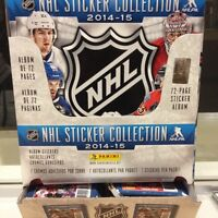 Panini Stickers Collants NHL Hockey 2014-15 100 Paquets + Albums