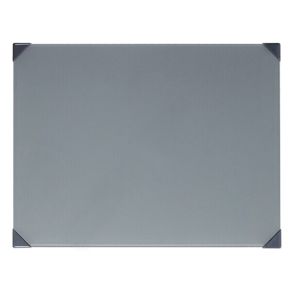 New Wave Art Posh Glass Grey 12X16 Table Top Palette