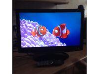 21 inch Akura full HD TV with built in DVD