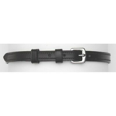 Camelot Soft Lined Leather English Spur Straps with Square (Camelot Leather)