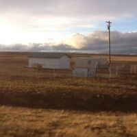 FOR RENT Fenced 4 acres industrial storage yard in Peace River