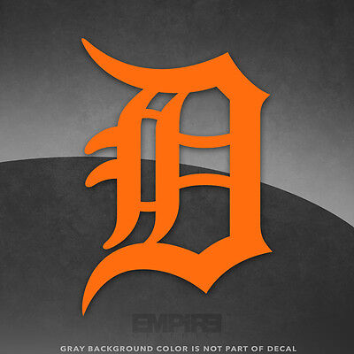 Detroit Tigers Logo Vinyl Decal Sticker   4  And Larger   30  Colors Available
