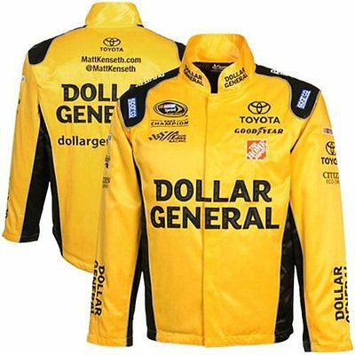 Matt Kenseth Dollar General Chase Authentics Jacket   Large   Free Ship