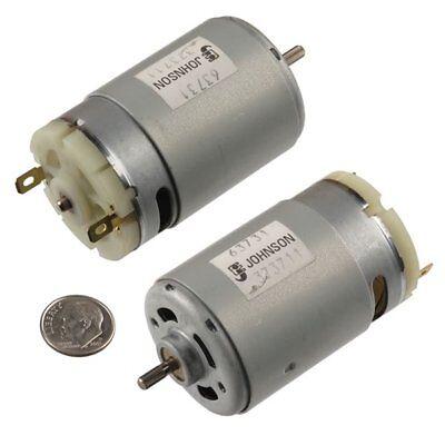 Johnson Electric Dc Motor - 12 V Dc - 12000 Rpm - 3.17 Mm Splined Shaft
