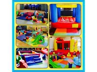 Cheeky tiddlers soft play hire