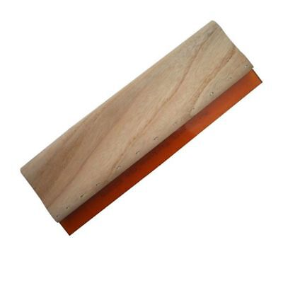 13 Wood Squeegee Scraper Waterbase Scratch Board For Silk Screen Printing 33cm