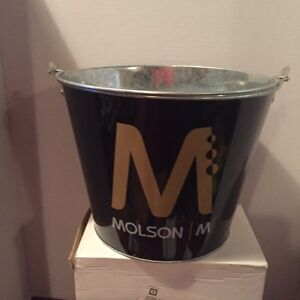 VINTAGE MOLSON ICE BUCKET BEER HOLDER(1990's) West Island Greater Montréal image 2