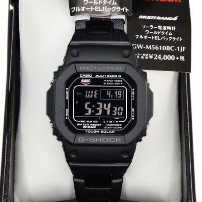 Casio G-Shock Tough Solar GW-M5610BC-1JF Men's Watch Japan Black Color *US