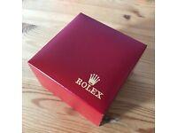 Rolex? Watch box / case