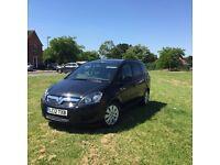 Vauxhall Zafira 1.6 petrol 2012