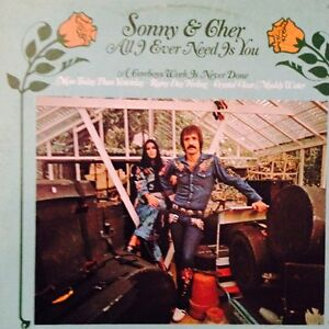 Sonny and Cher Album LP Record