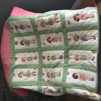 Bed Quilt for Girl