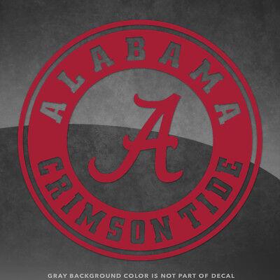 Alabama Crimson Tide Bama Vinyl Decal Sticker - 4